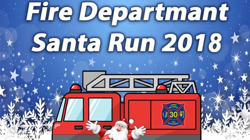 LOWER MACUNGIE FIRE DEPARTMENT – SANTA RUN 2018